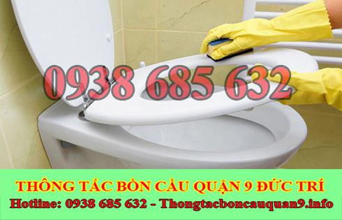Thông nghẹt bồn cầu bị nghẹt vải Quận 9 BH 5năm 0903737957
