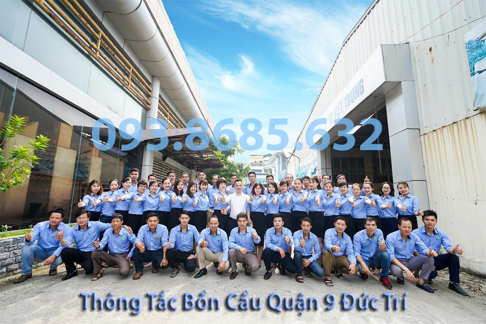 Đội ngũ nhân viên công ty Thông tắc bồn cầu quận 9 Đức Trí